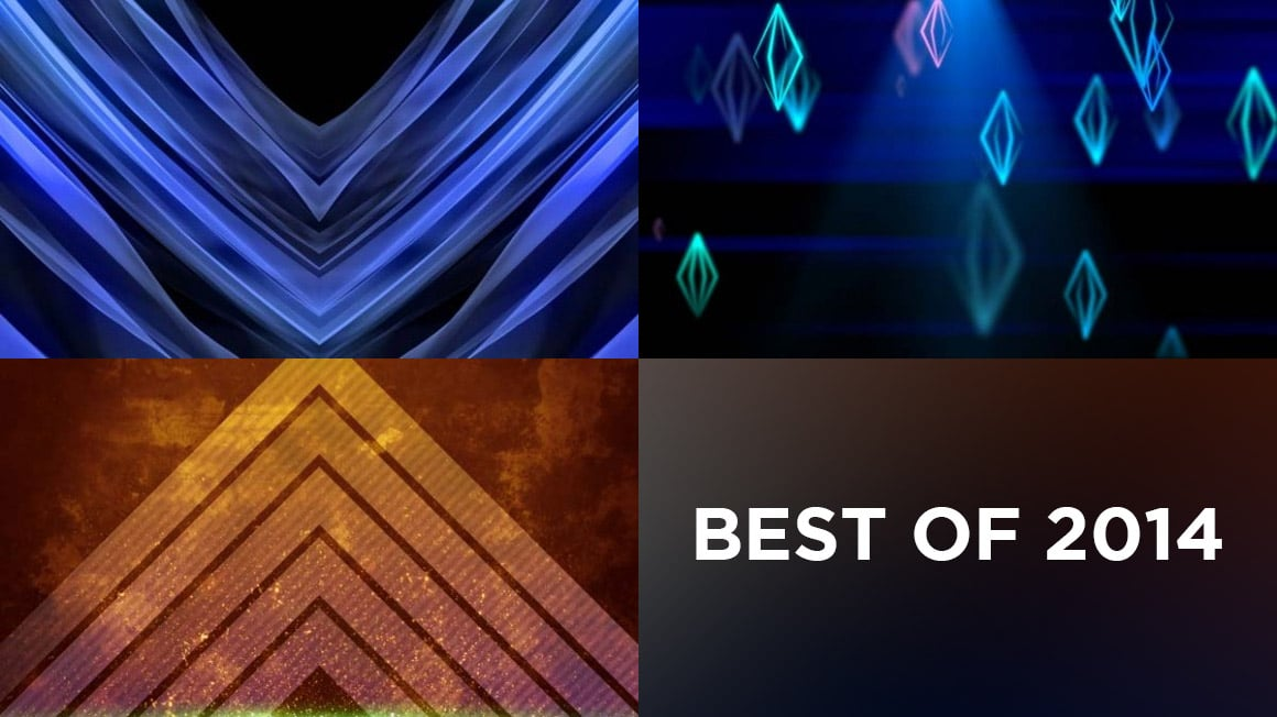 Top 3 CMG Moving Backgrounds of 2014 Church Motion Graphics
