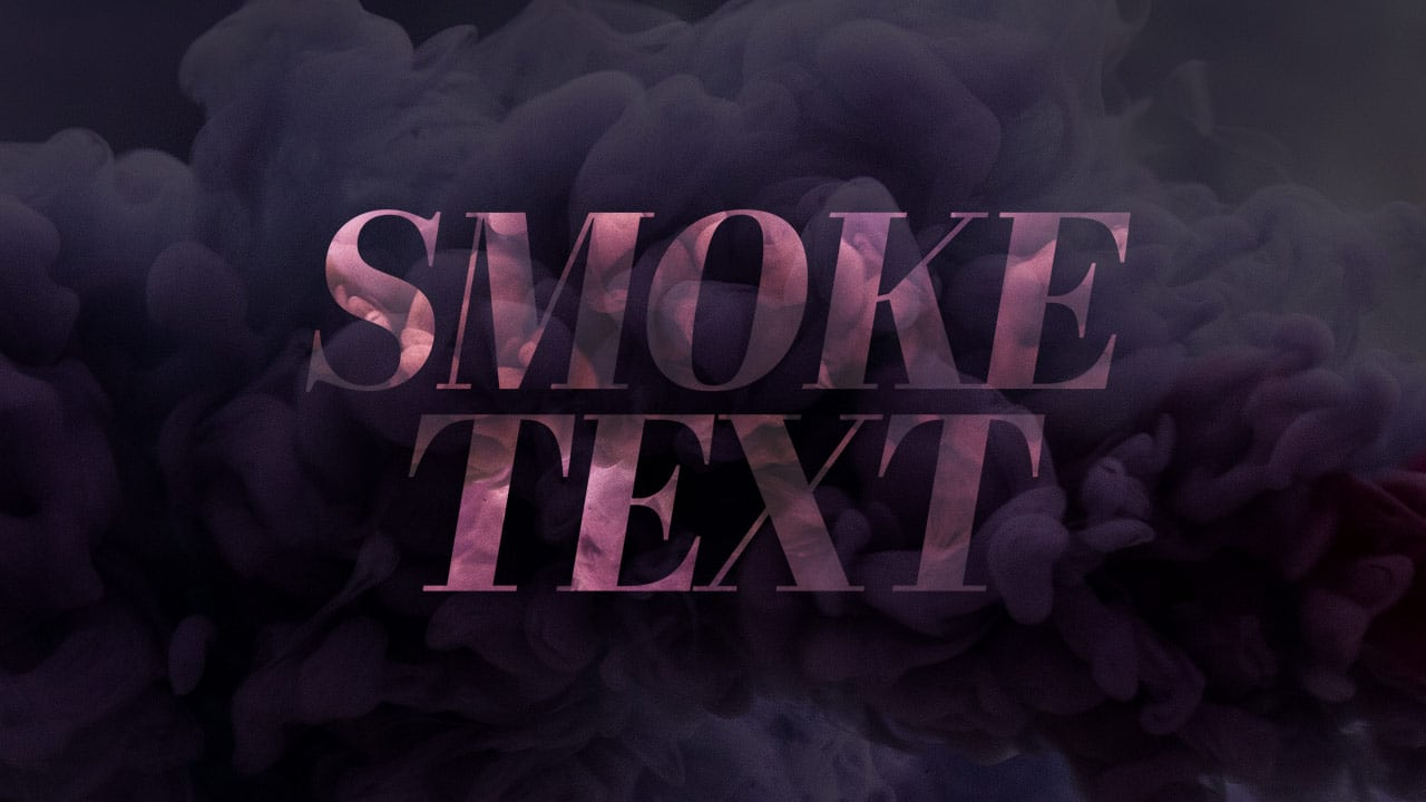 free smoke text photoshop template with photos  u2013 cmg