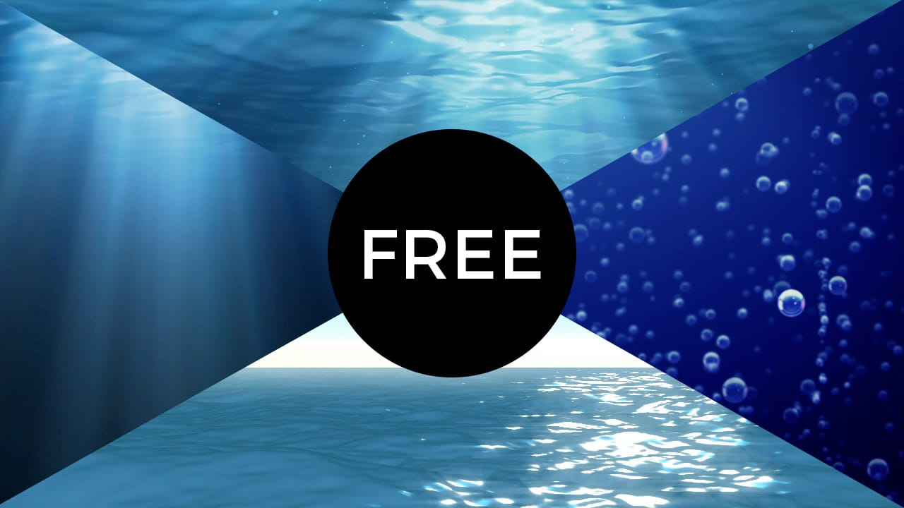 4 Free Ocean and Underwater VBS Moving Backgrounds – Church Motion ...