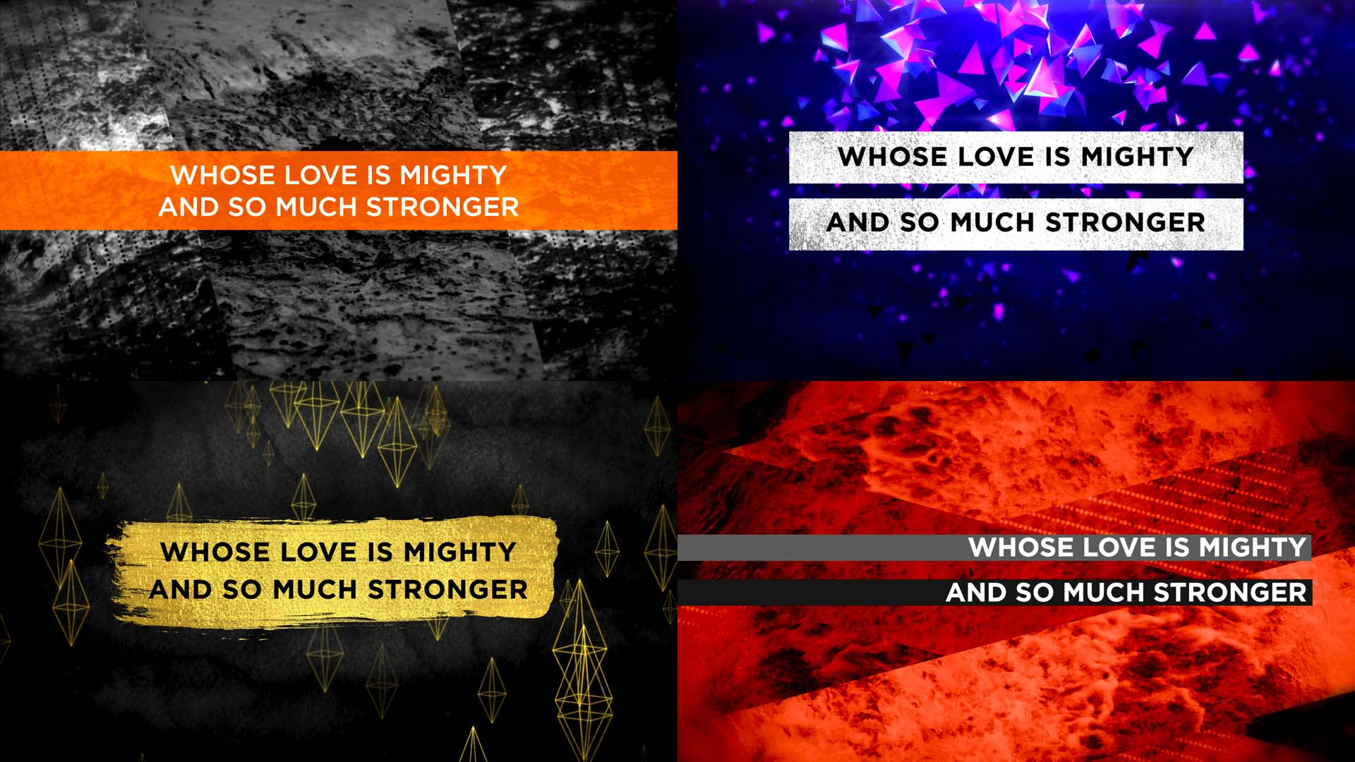 20 Lyric Slide Designs That Will Inspire Your Creativity