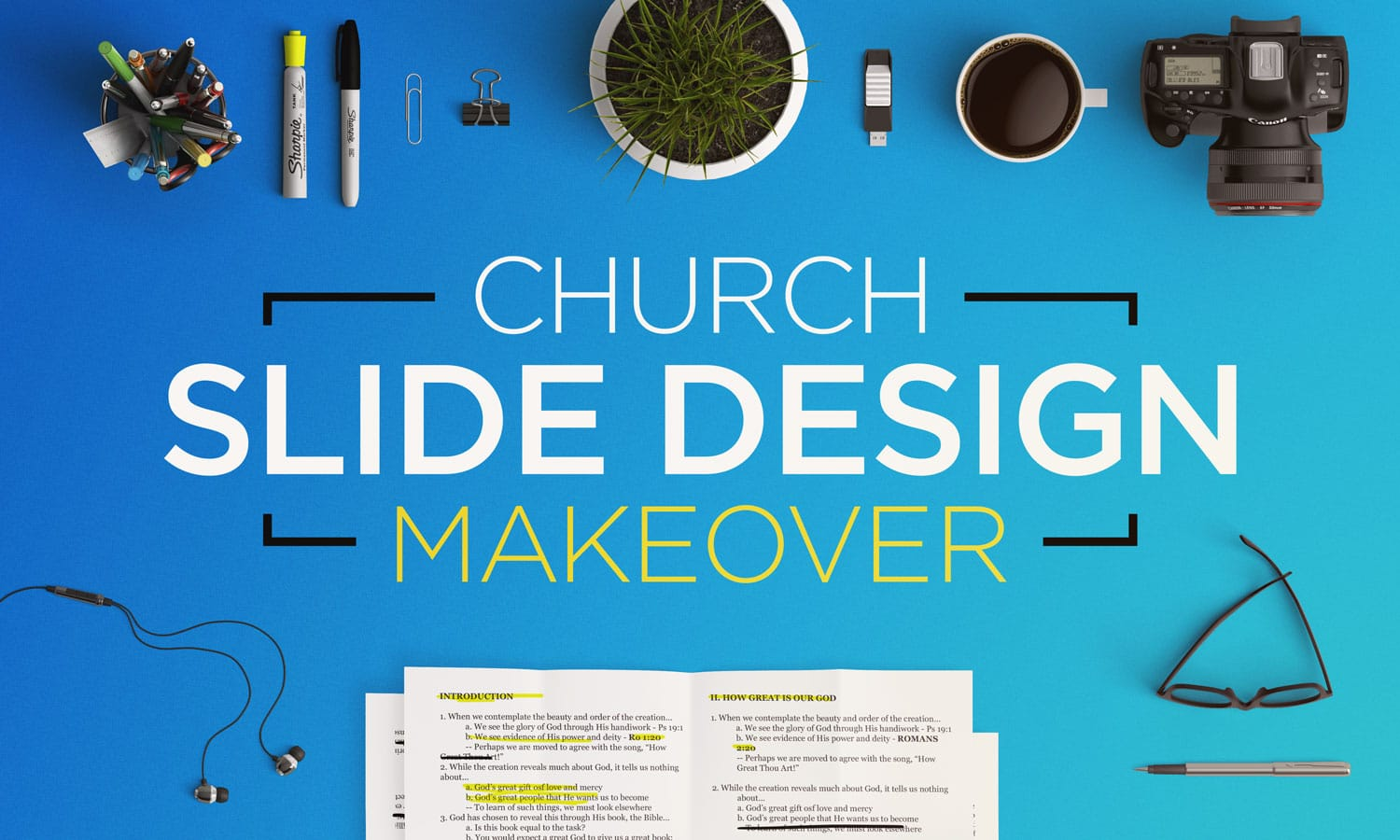 Church Slide Design Makeover
