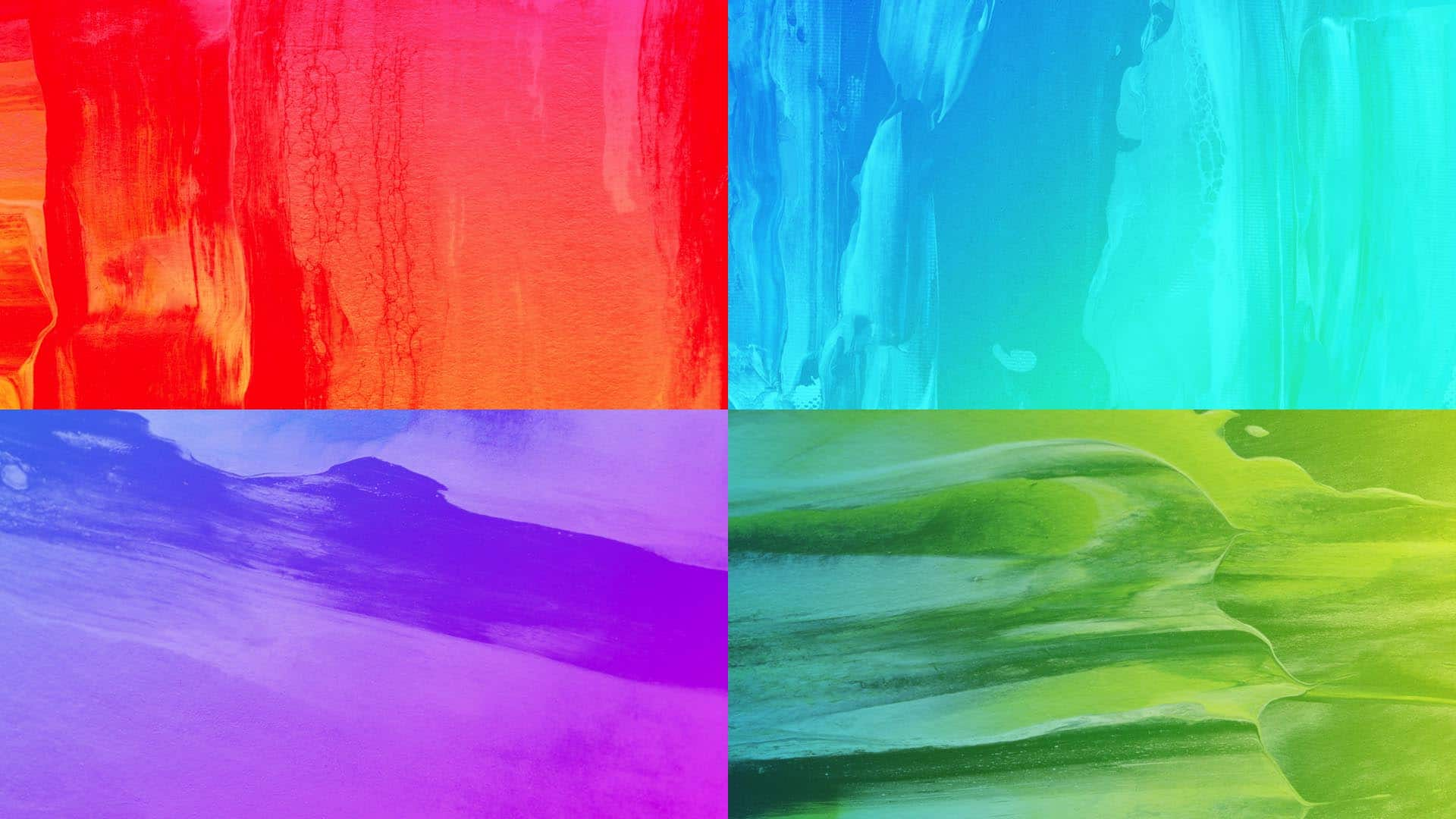 10 Free Hot Paint Gradient Stills