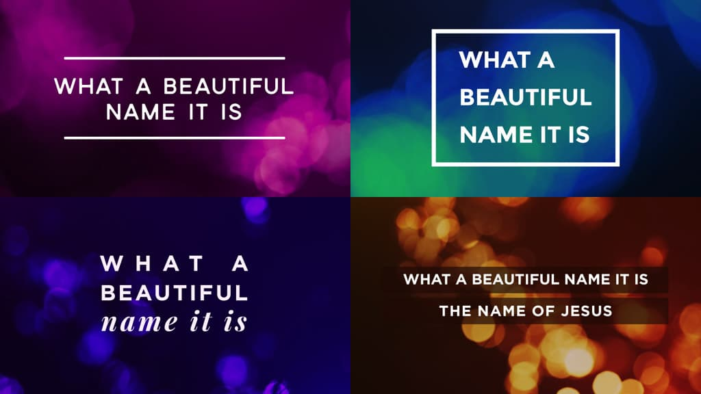 10 Lyric Slide Designs That You'll Want To Try Immediately
