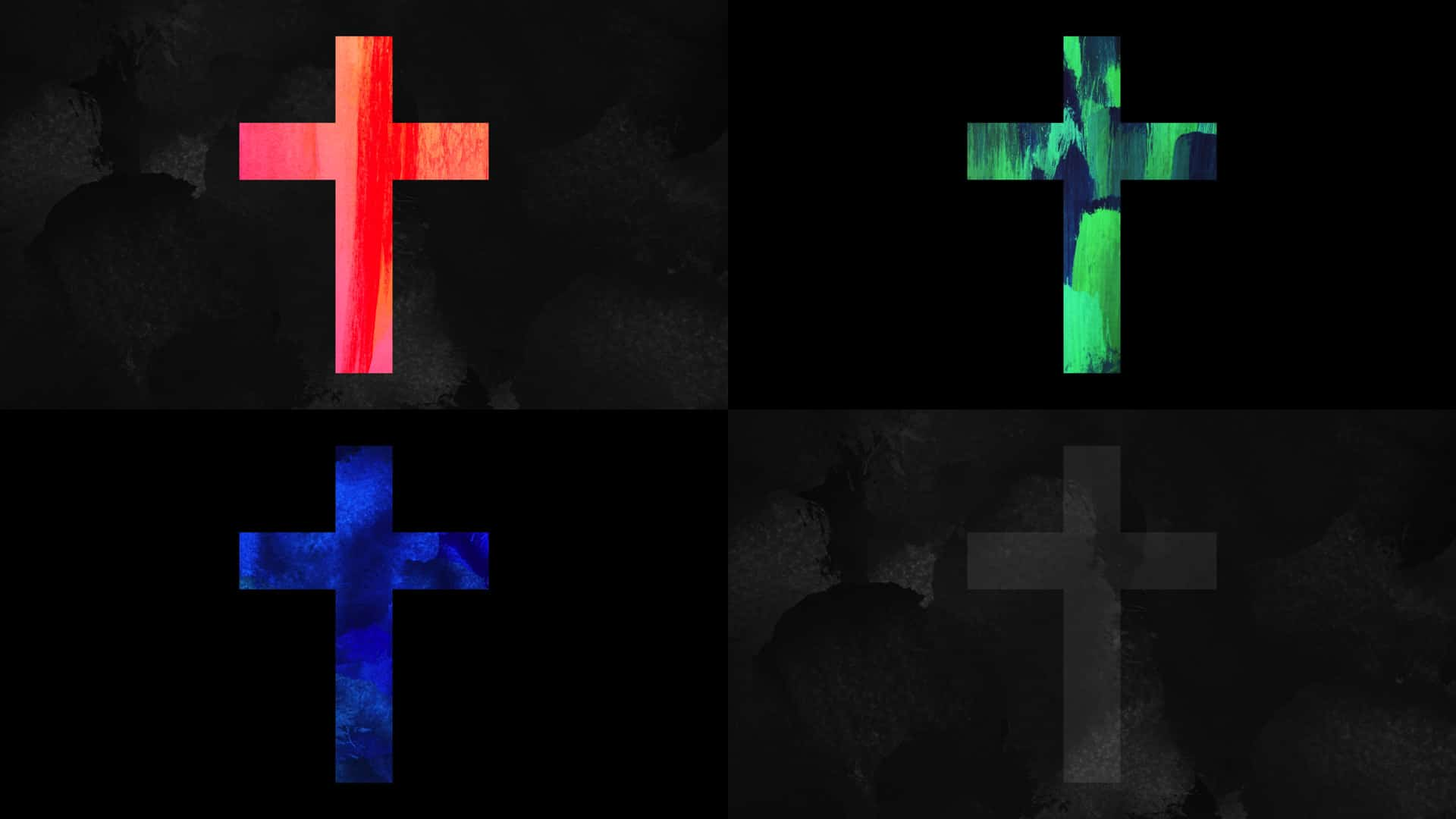 9 Free Paint Alive Cross Stills