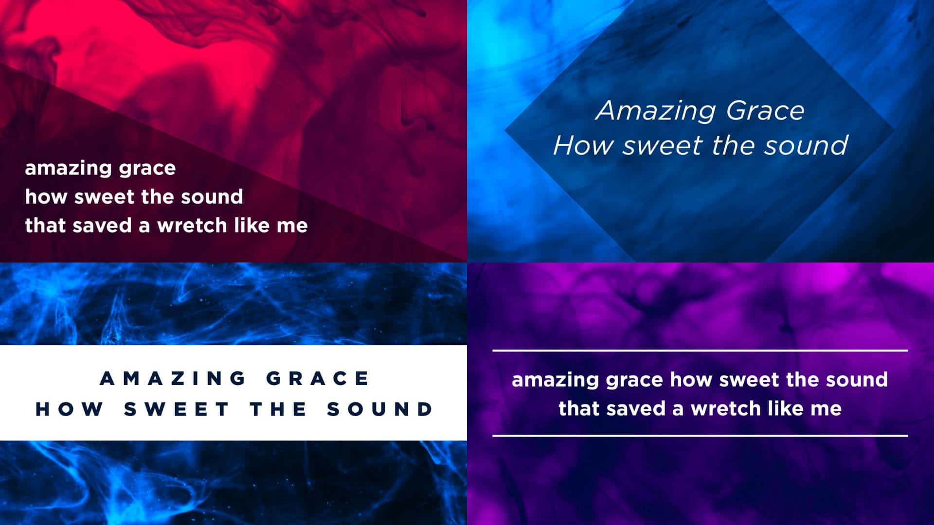10 Simple Lyric Slide Designs Anyone Can Create