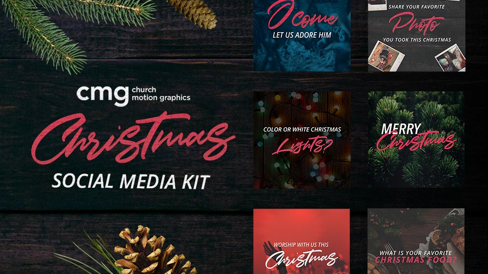 CMG Christmas Social Media Kit