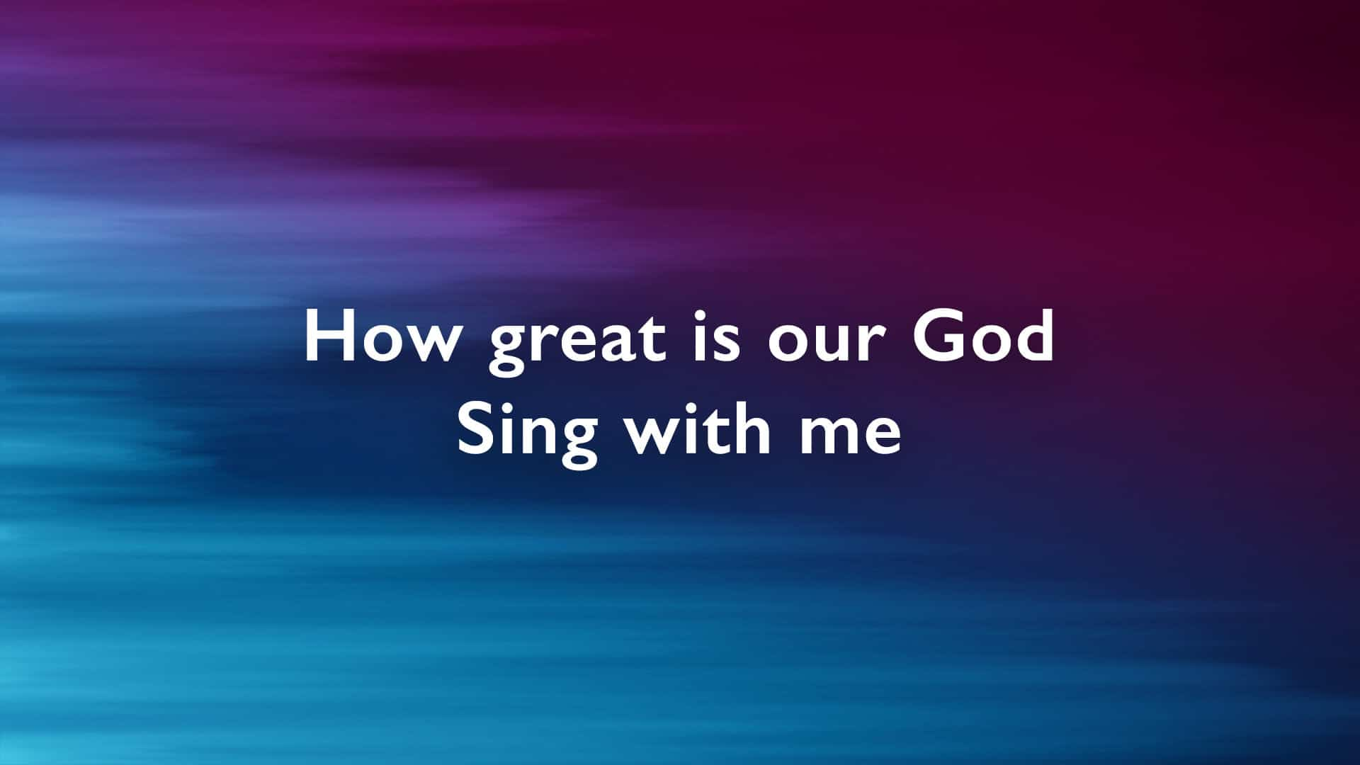 7 Popular Typefaces For Worship Lyric Projection Cmg Church