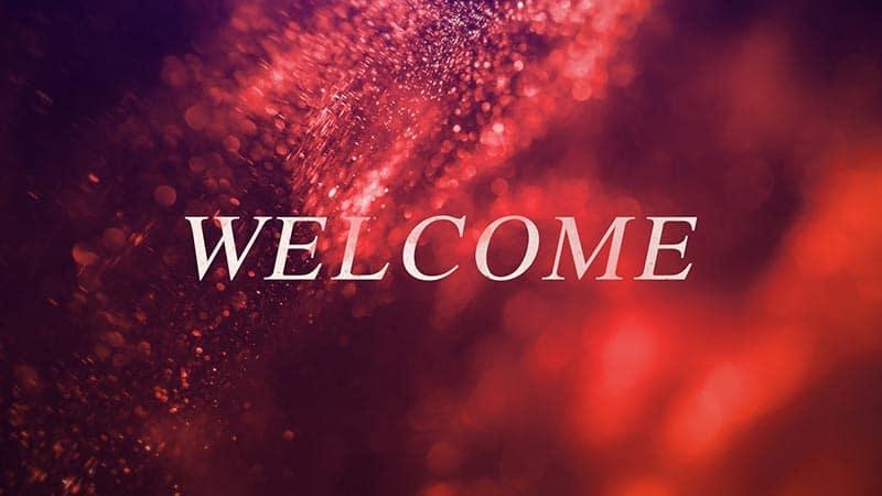 Glitter Rush Welcome
