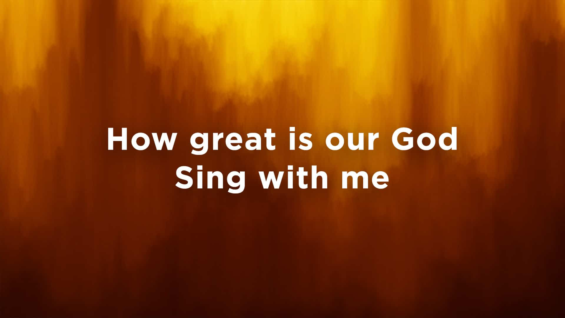 7 Popular Typefaces for Worship Lyric Projection – CMG | Church