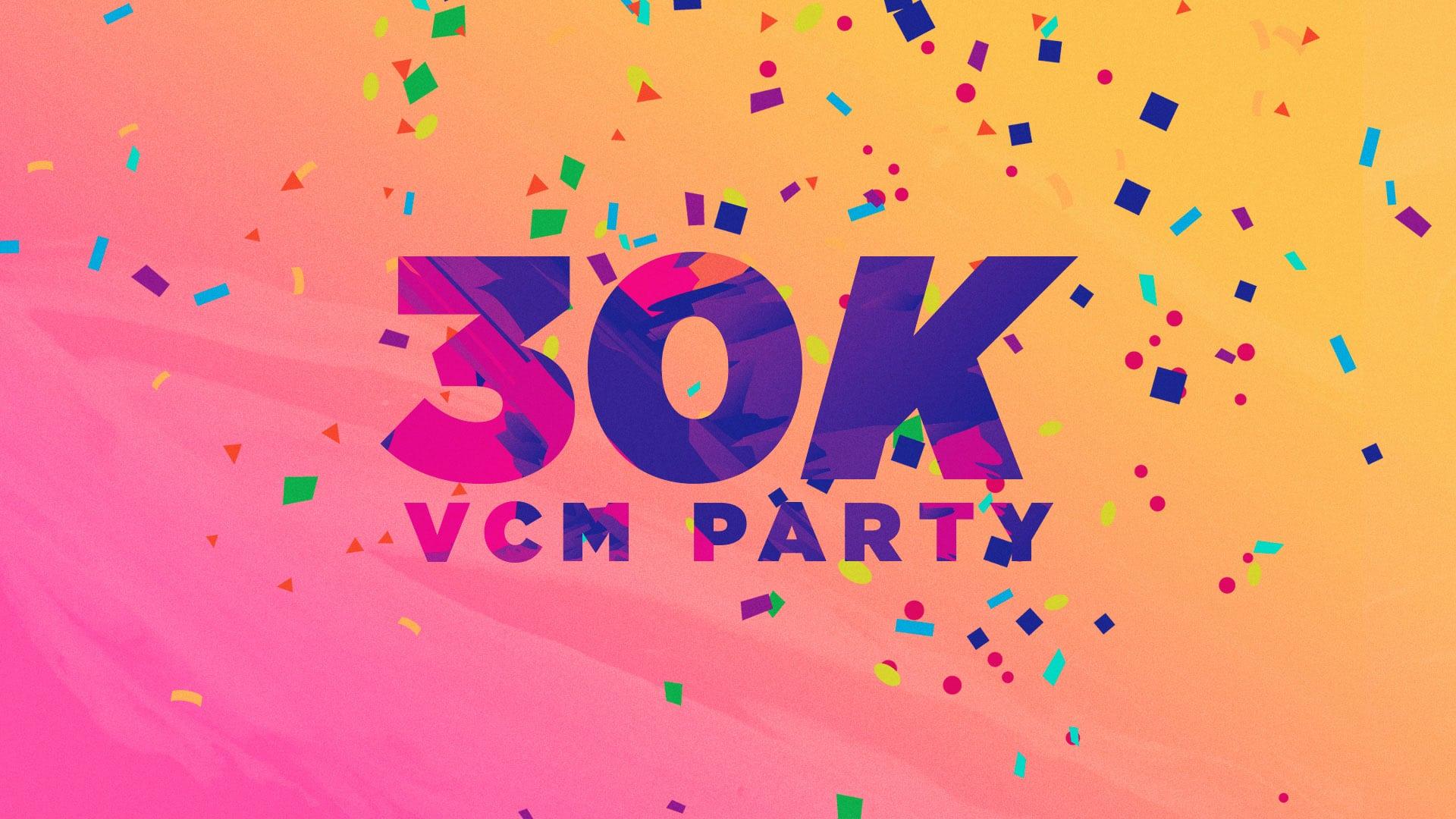 Visual Church Media 30K Party