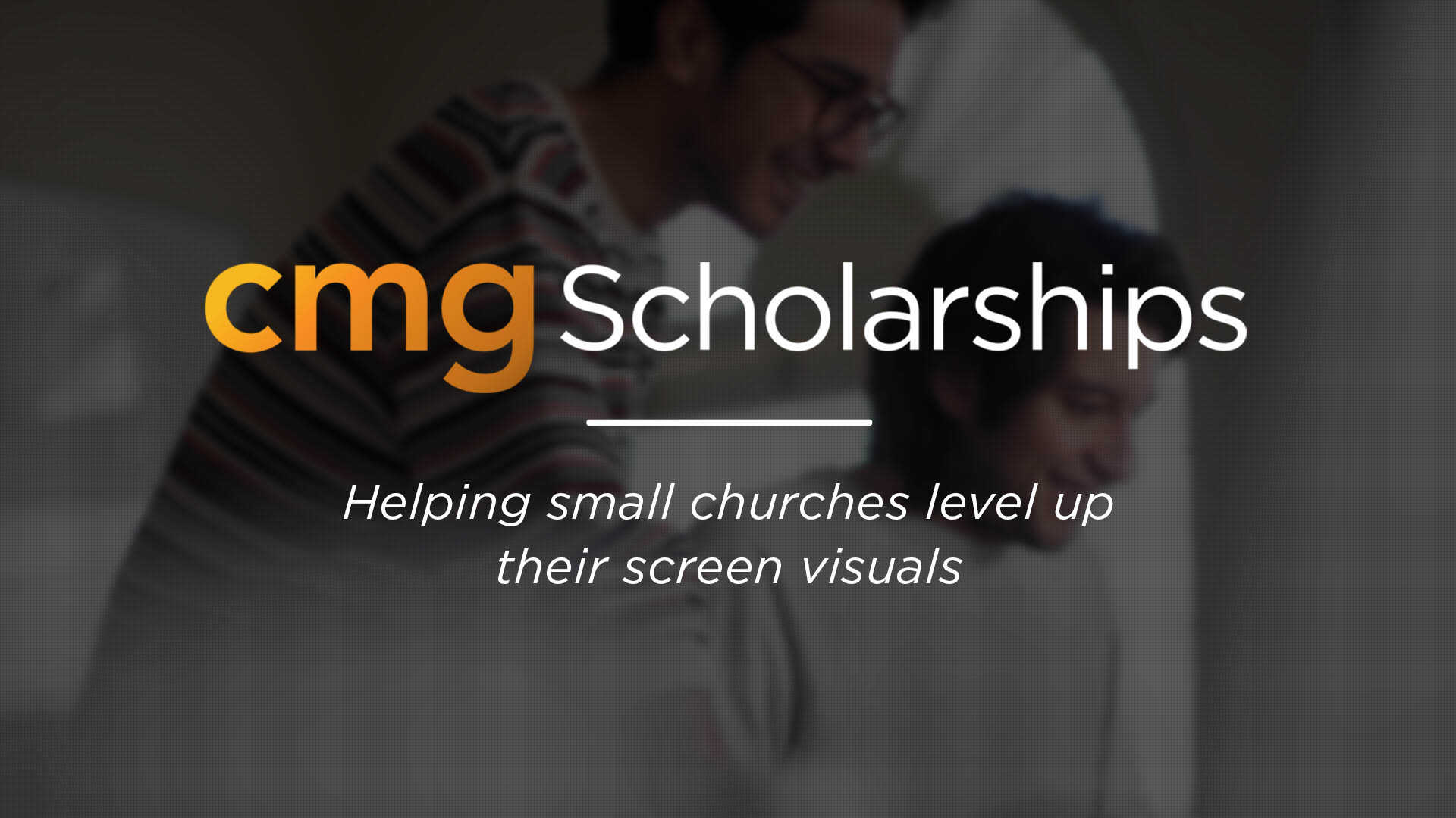 CMG Scholarship Discounts For Small Churches