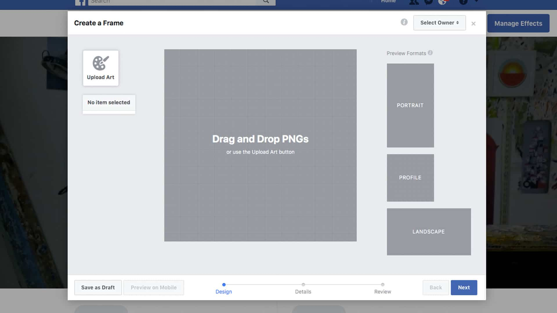 How To Create A Custom Facebook Profile Frame + 3 Free Templates ...