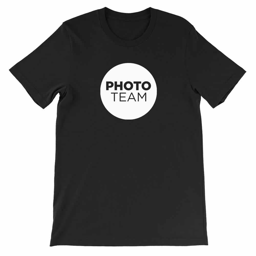 Photo Team Church Shirt