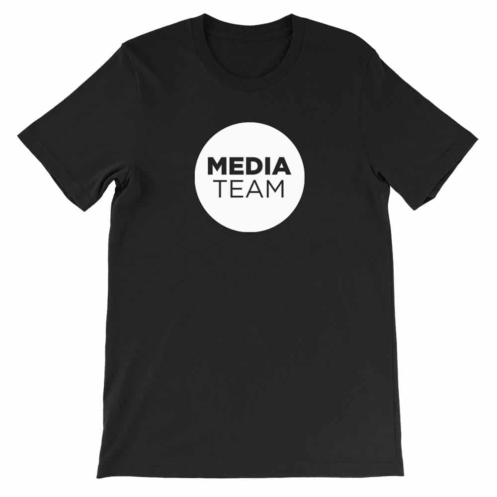 Media Team Church Shirt