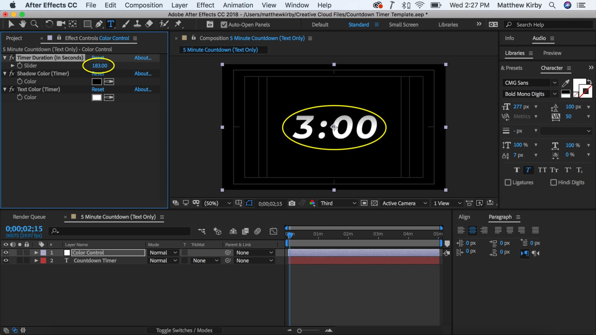 Free After Effects Countdown Timer Template – CMG | Church