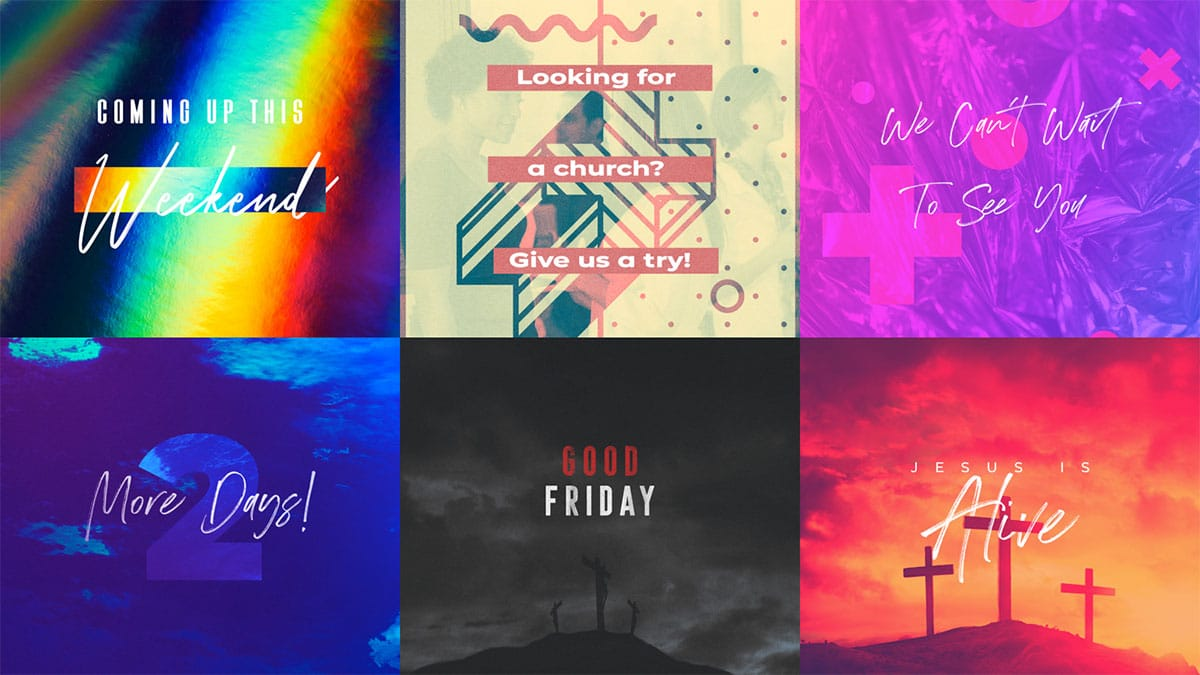 CMG Easter Social Graphics