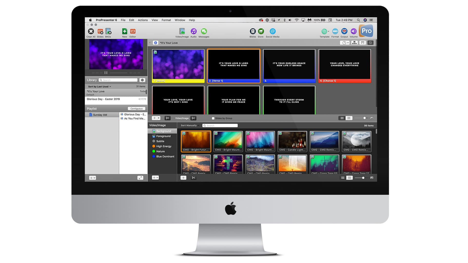 99 Free Worship Backgrounds For ProPresenter – CMG | Church