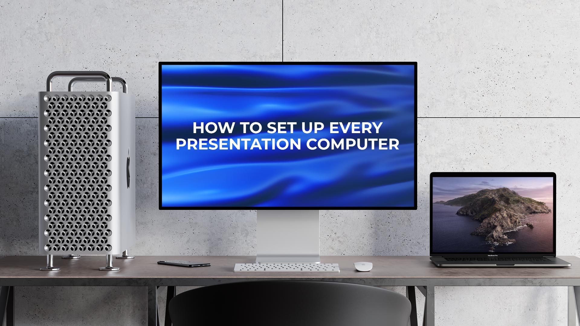 How To Set Up Every Presentation Computer