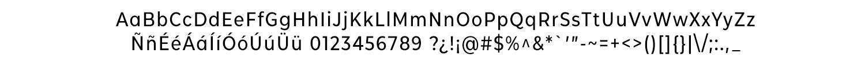 CMG Sans Medium Condensed