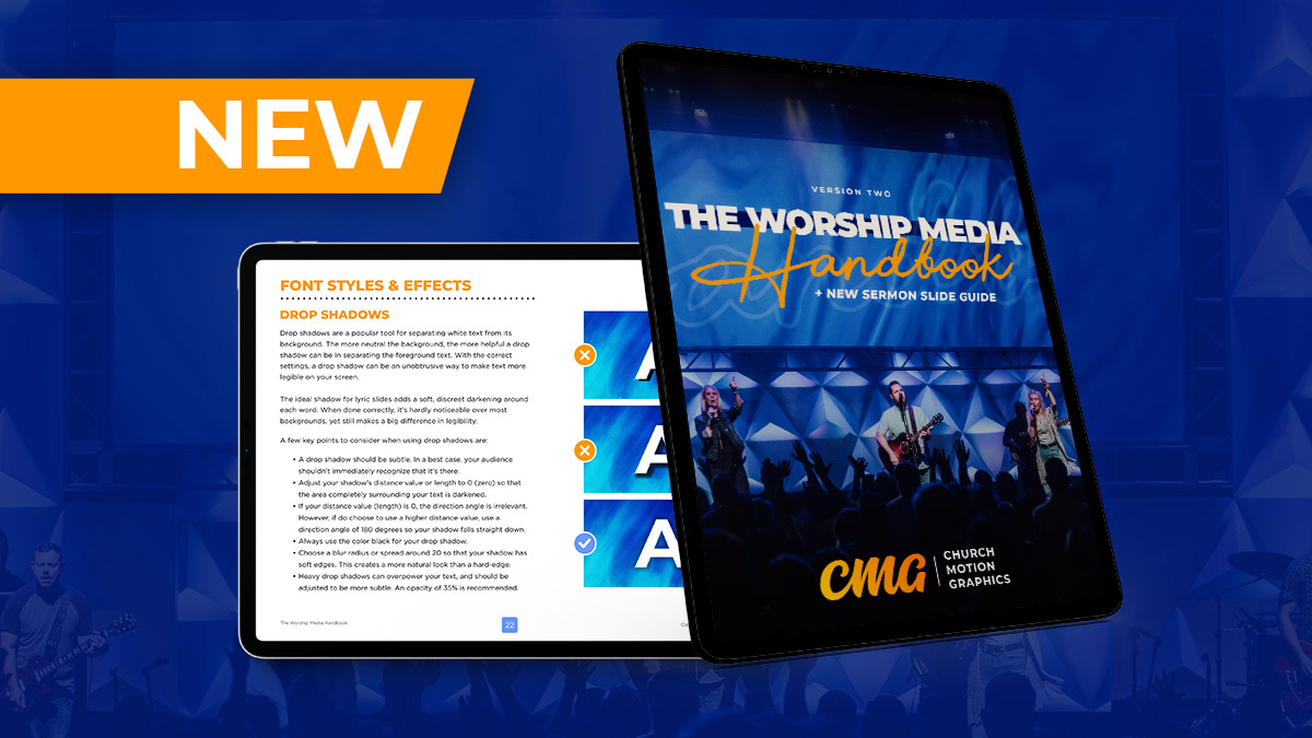 The Worship Media Handbook Version 2