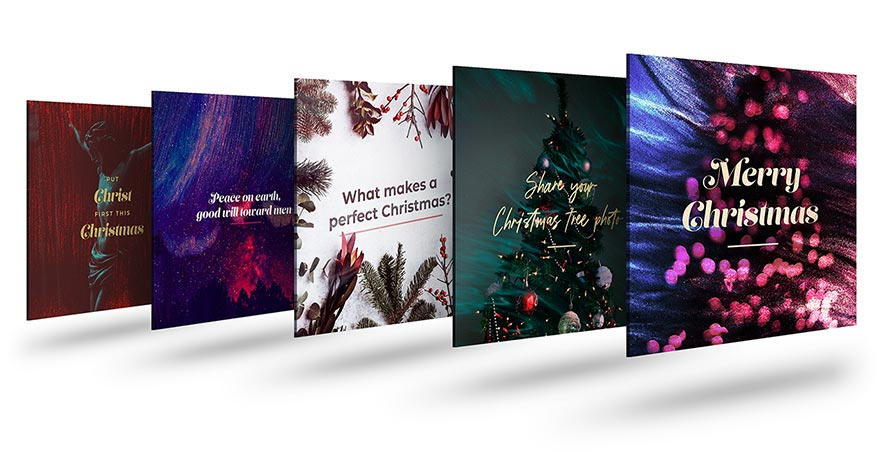 CMG Christmas Social Graphics
