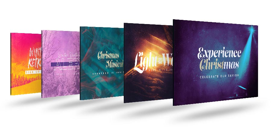CMG Christmas Template Graphics