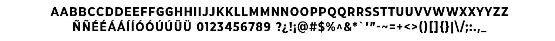 CMG Sans Bold Condensed Caps