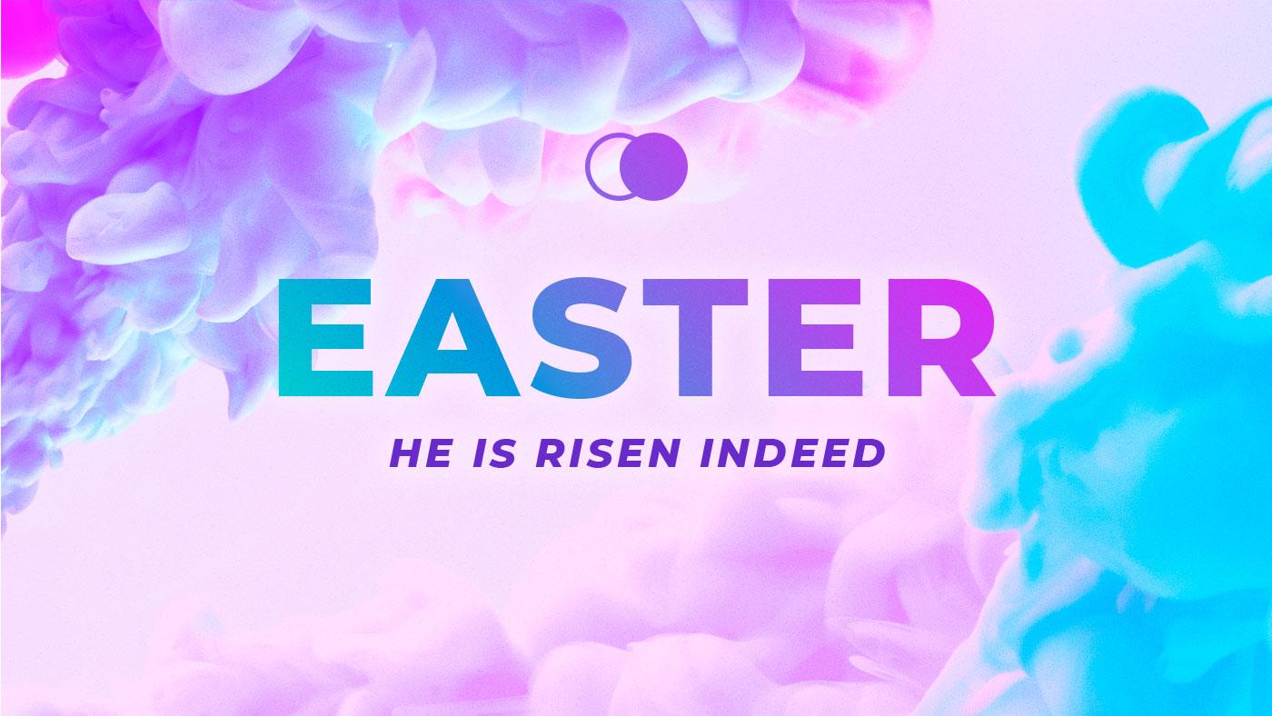 Ink Blast Easter Peace