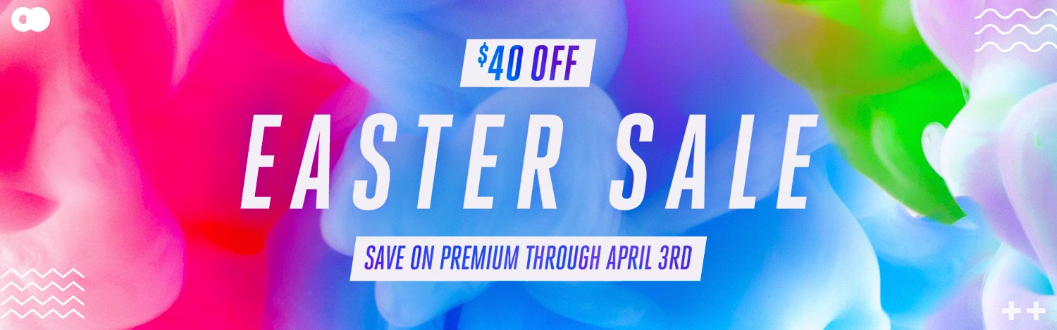 CMG Easter Sale