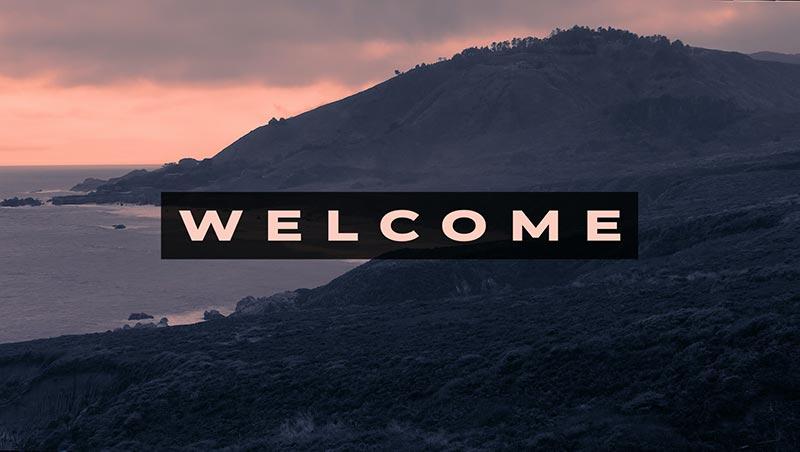 Cali Dreams Welcome