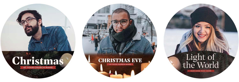 Christmas Profile Frames