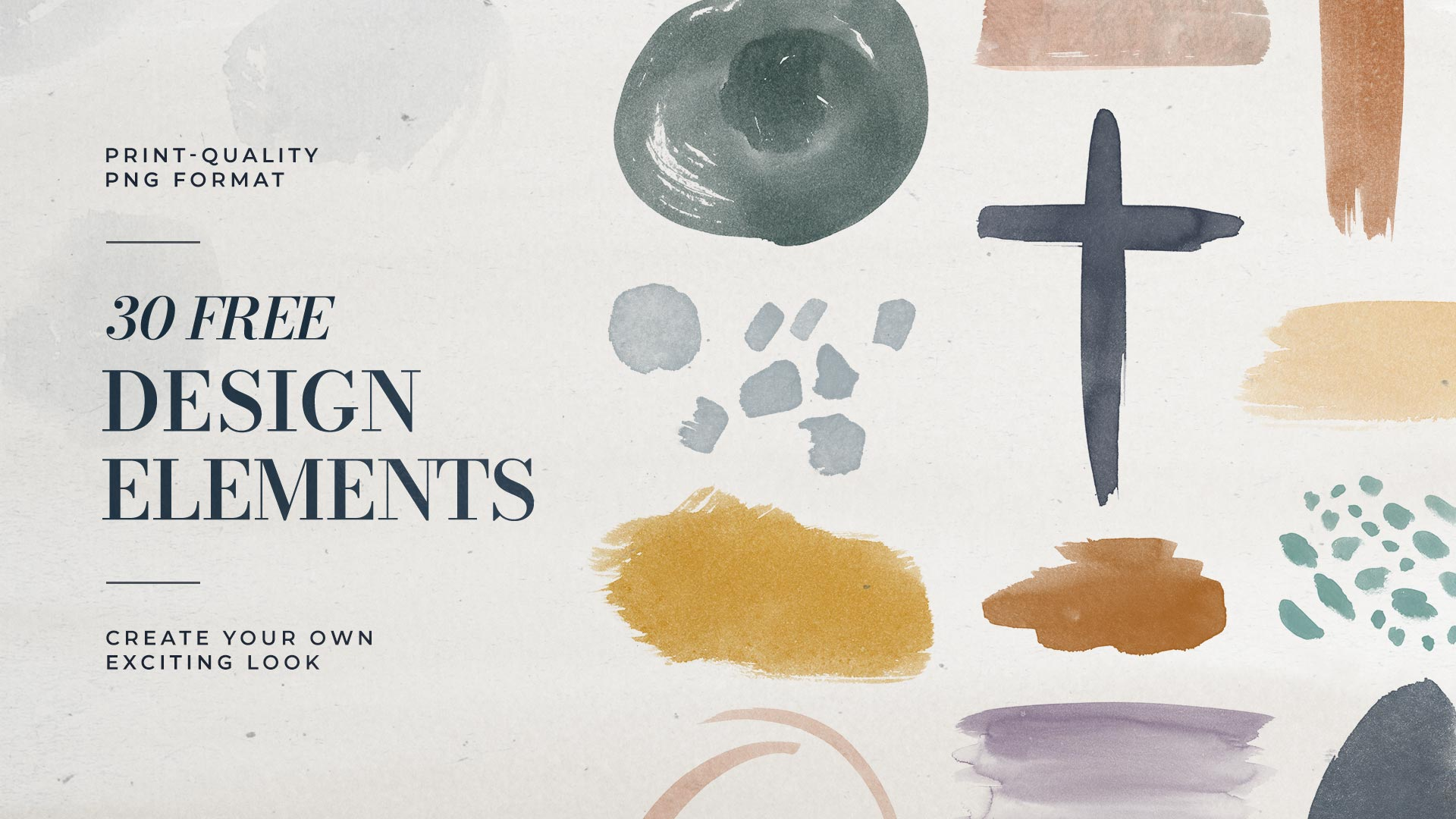 30 Free Easter Design Elements