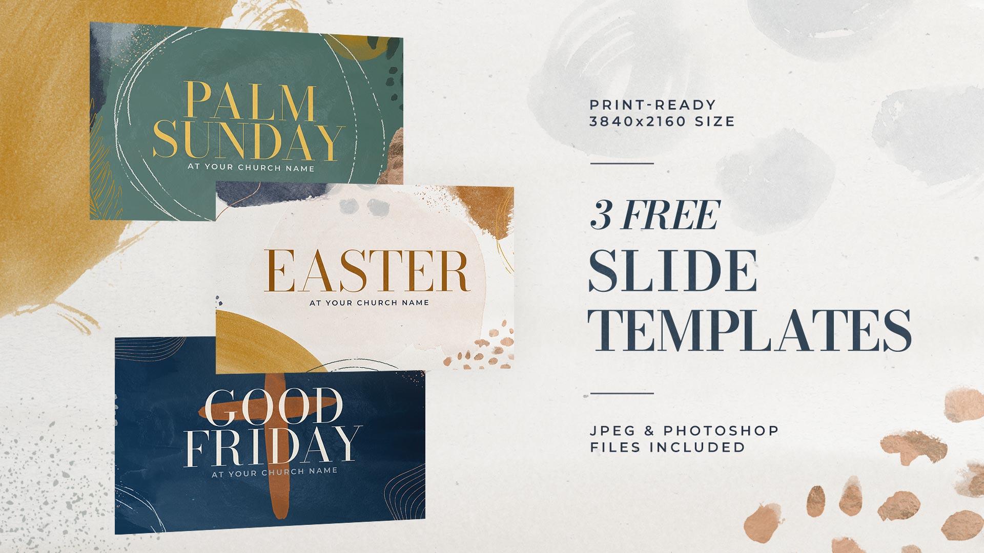 3 Free Slide Templates