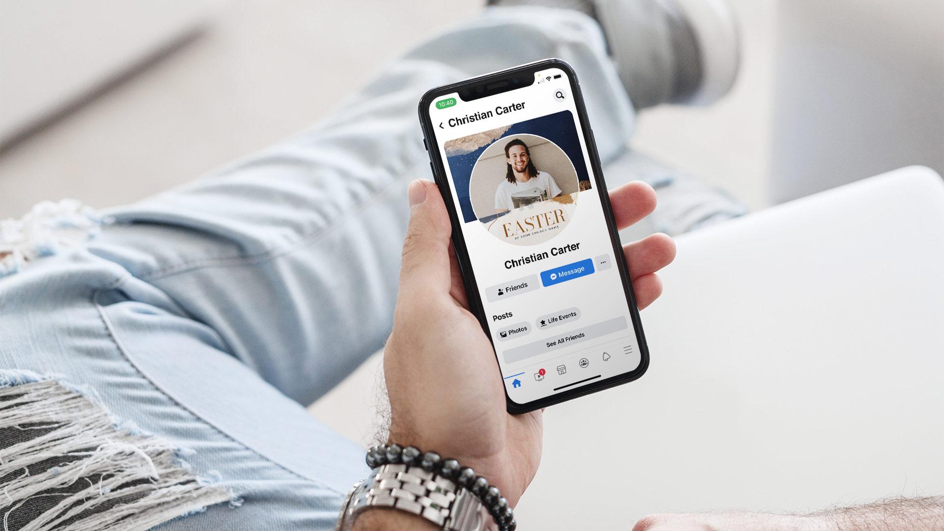 3 Free Easter Facebook Profile Frames For 2021