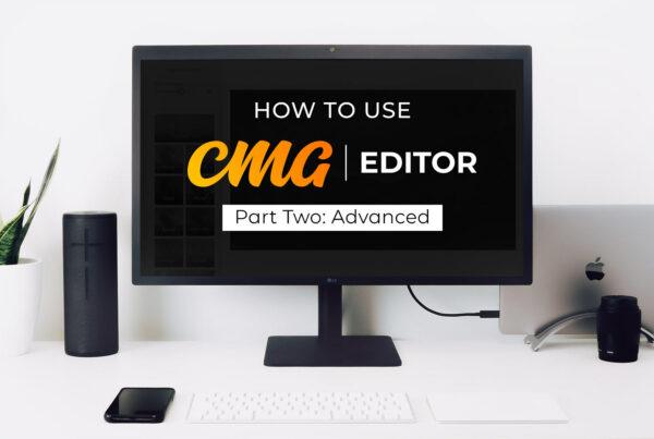 CMG Editor Advanced