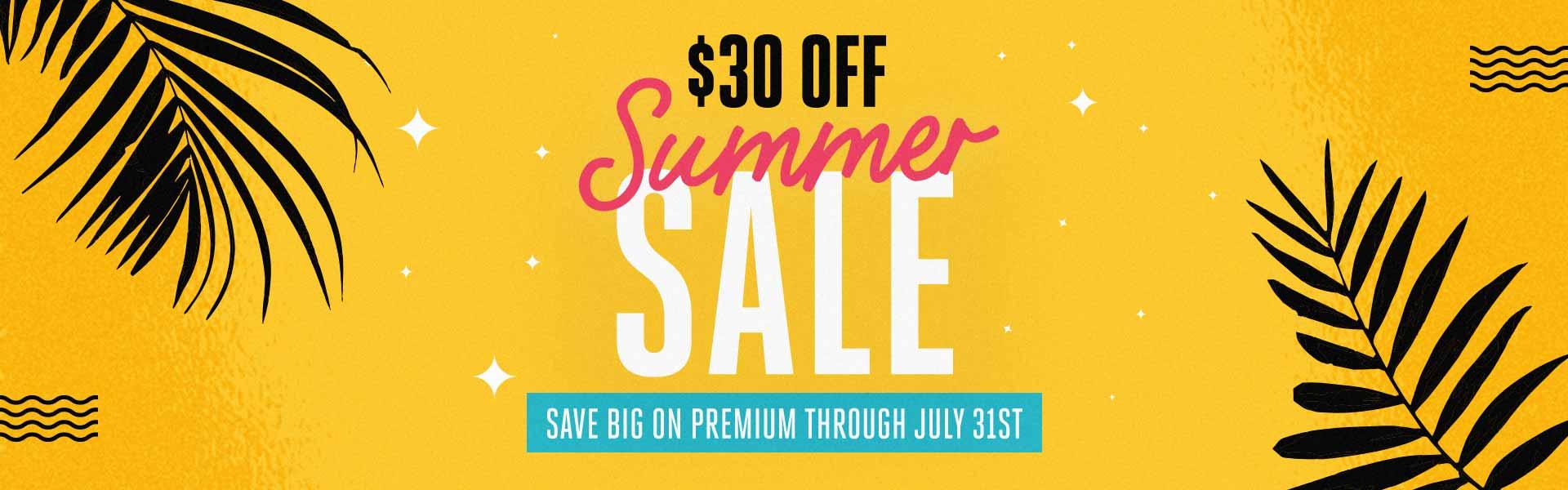 CMG Summer Sale - Save Big On Premium
